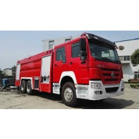 15 Ton Water Foam Fire Fighting Truck | Sinotruk
