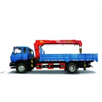 5-ton Lift Capacity Truck-mounted Crane with Telescopic Boom - SPS12500/SHACMAN chassis | SANY