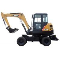 6-ton Wheel Excavator - SY65W | SANY