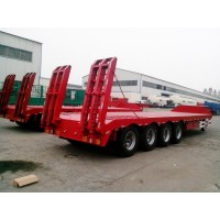 4 Axle Lowbed Semi Trailer | OEM