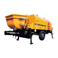 70m³/h Electric Trailer Pump - HBT6006A-5 | SANY