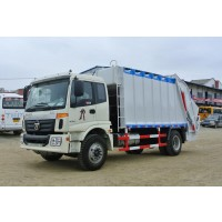 6-Wheeler 10 CBM (m3) Compression Garbage Truck | Foton