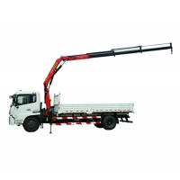 6-ton Lifting Capacity Truck-mounted Crane with Foldable Boom - SPK10000/SHACMAN chassis | SANY