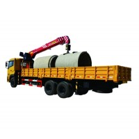 10-ton Lift Capacity Truck-mounted Crane with Telescopic Boom SPS25000/SHACMAN chassis | SANY