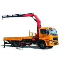 10-ton Lifting Capacity Truck-mounted Crane with Foldable Boom SPK23500/SHACMAN chassis | SANY