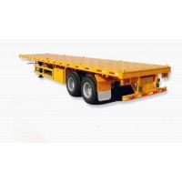 2 Axle Flatbed Semi Trailer | OEM