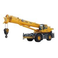 50 Ton lift capacity Rough-terrain Crane - RT50 | XCMG