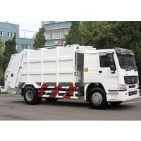 6x4 Compress Garbage Truck | Sinotruk