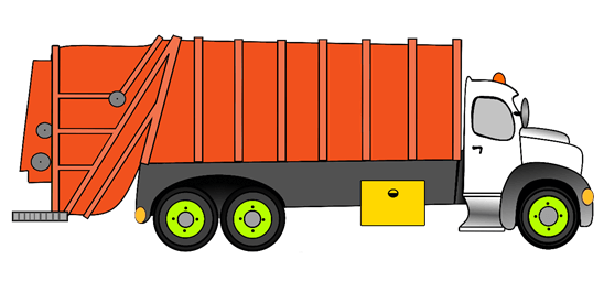 garbage truck model