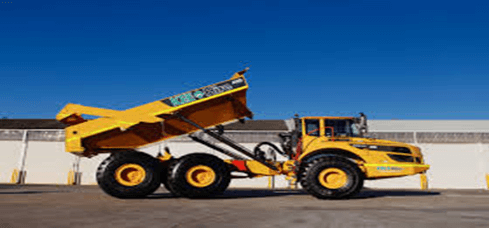 Dump trucks come in different types and sizes