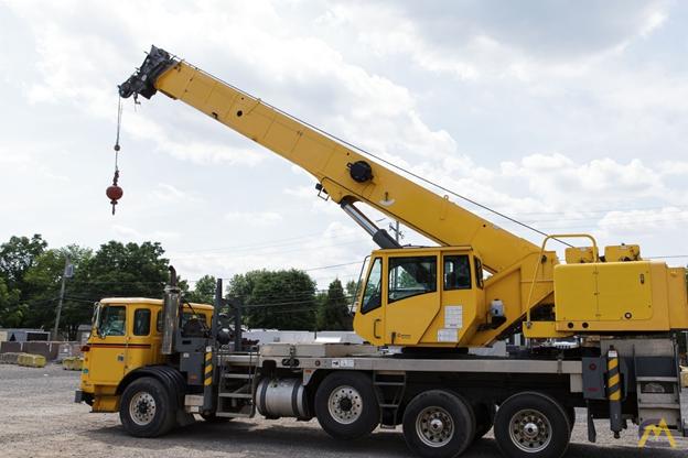 All-terrain Truck Crane for heavy lifting.