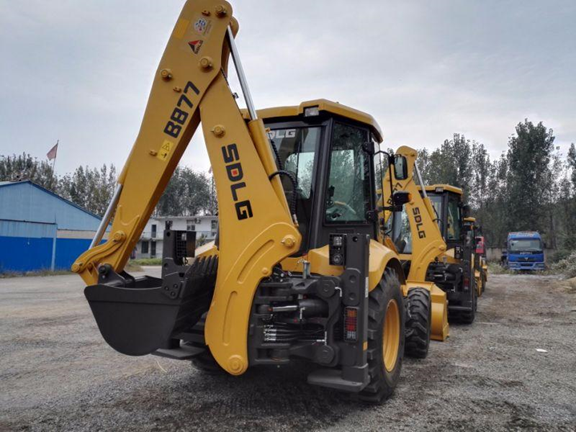 the backhoe of SDLG B877 can be replaced and customized.