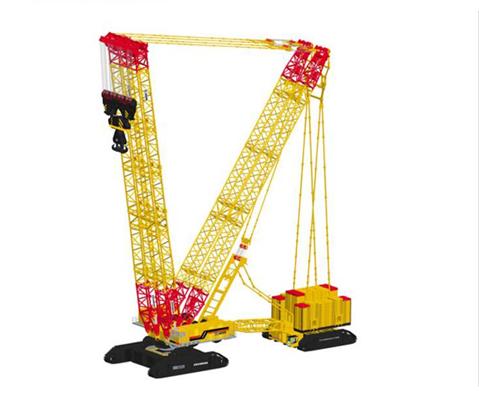 XCMG Crawler Crane – XCMG XGC88000 is the World's Largest Crawler Crane.