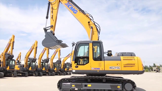 XE215C Excavator model