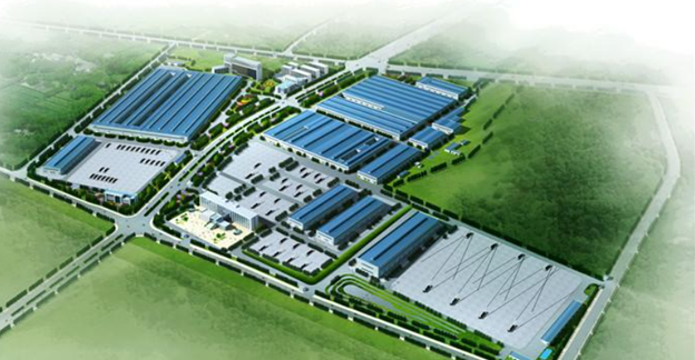 The Quantang Industrial Park located in Changsha, Hunan