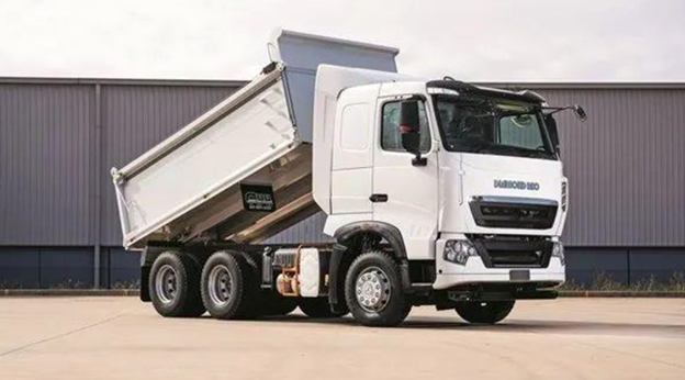 A Chinese Dump Truck that exported to Australia