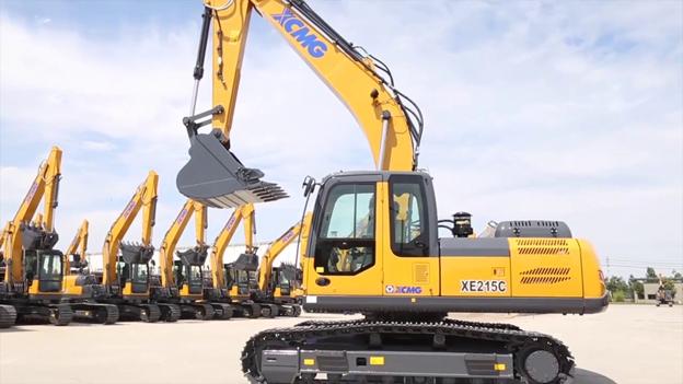 XE215C Excavator models