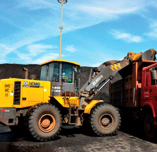 the front bucket of XCMG ZL50GN can be replaced and customized.
