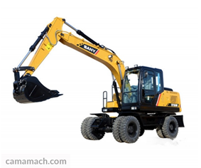 SANY SY155W – Wheel Excavator for Sale.