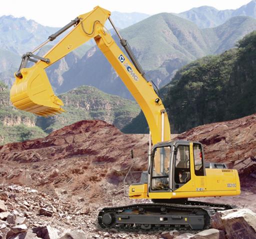 XE215C Excavator at work