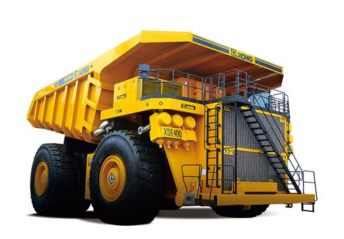 XCMG Dump Truck – XCMG DE400 is the World's Largest Mining Dump Truck