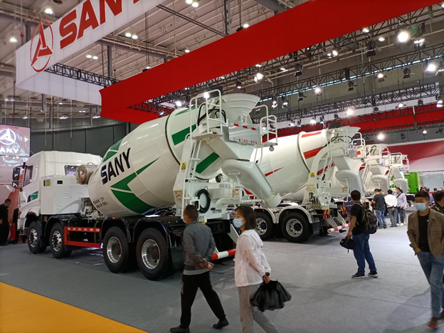 New SANY Cement Mixer Trucks – Buy Construction Equipment by SANY