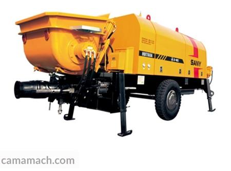 Buy Electric Trailer Concrete Pump by SANY – SANY HBT6006A-5 for Sale