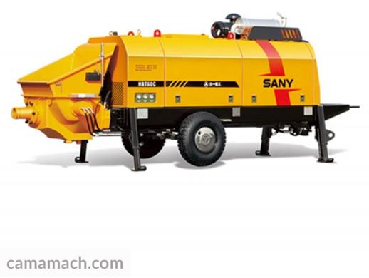 Buy Diesel Trailer Concrete Pump by SANY – SANY HBT601C-5S for Sale