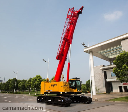 Buy Crawler Cranes by SANY – SANY SCC550TB for Sale