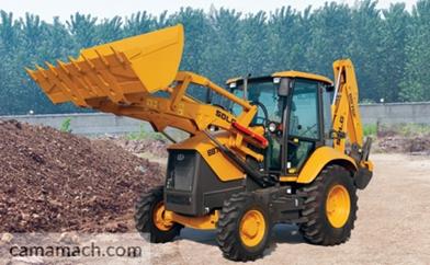 SDLG backhoe loader– Buy 8-ton backhoe loader