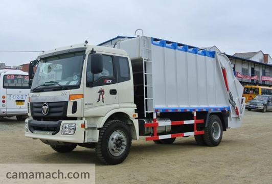 Foton Lovol garbage truck- Buy 6-wheeler compression garbage truck