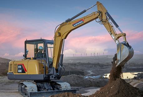 Foton Lovol Excavator- Buy FR60E excavator