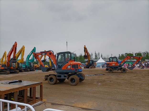 ZT-60W Wheel Excavator – Buy Mini Excavators