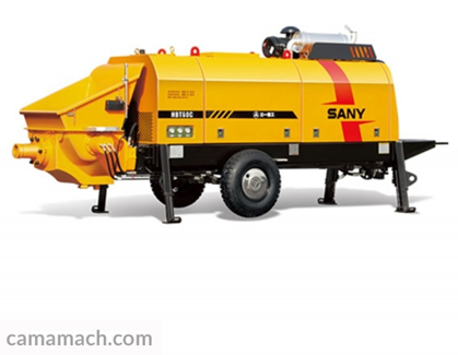 SANY HBT6016C-5S – SANY Trailer Concrete Pump for Sale