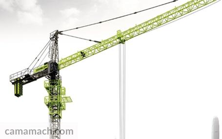 Zoomlion tower crane from Camamach