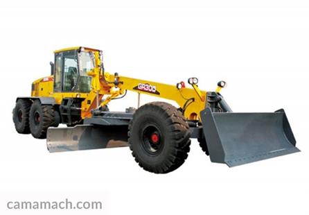 26-ton motor grader from Camamach
