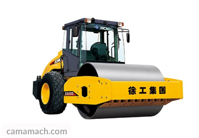 a road roller from Chinese XCMG company