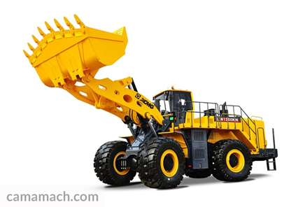 XCMG 12 ton wheel loader from Camamach