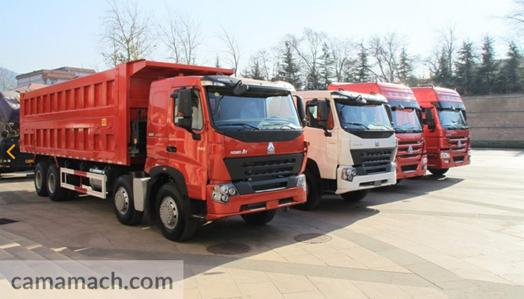 8 x 4 Dump Truck by Sinotruk