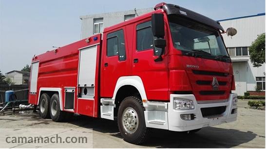 15 ton Fire Truck by Sinotruk