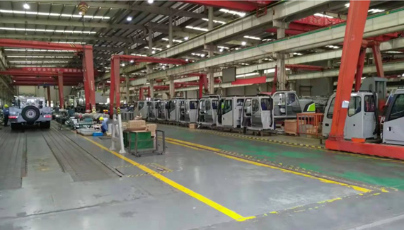 Typical Manufacturing Site Process in China – OEM Truck Head Factory