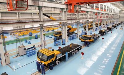 Xuzhou Construction Machinery Group Co., Ltd. (XCMG) in Jiangsu Province, China