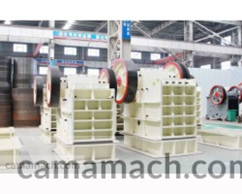 Compound crusher from Camamach