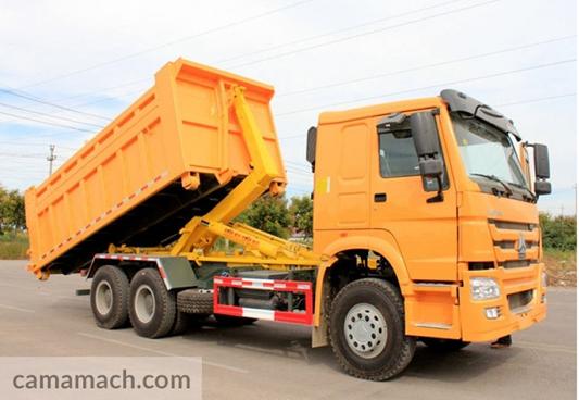 Hook Arm Garbage Truck by Sinotruk