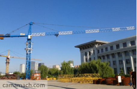 OEM tower crane available at Camamach