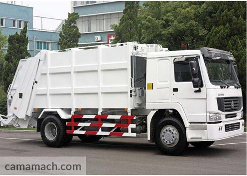 Compress Garbage Truck by Sinotruk
