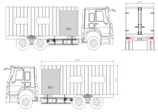 Camamach Mobile Truck Blueprint –Careful Examination of the Product Using Blueprint to Ensure High-Quality