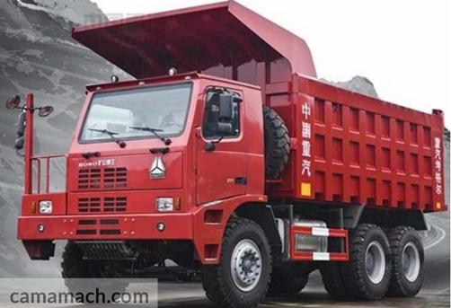6 x 4 MiningDump Truck by Sinotruk